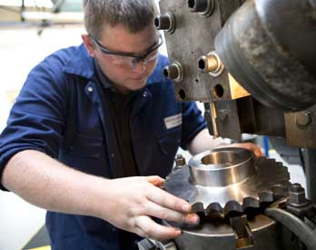 We are very proud of our apprenticeship programme.
